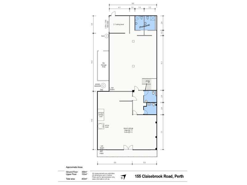 155 Claisebrook Road Perth WA 6000 - Floor Plan 1