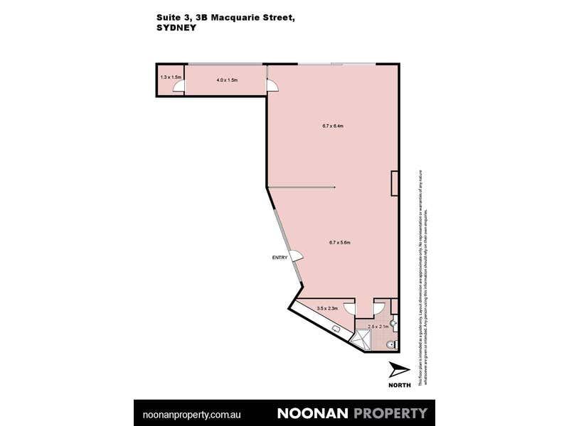 Bennelong Office Suites, 3/3B Macquarie Street Sydney NSW 2000 - Floor Plan 2