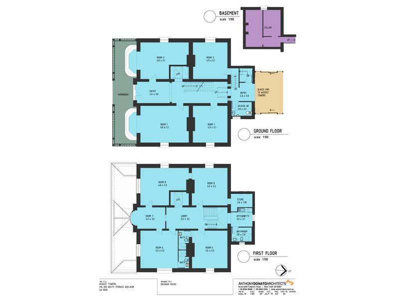Davaar House, 318 South Terrace Adelaide SA 5000 - Floor Plan 1