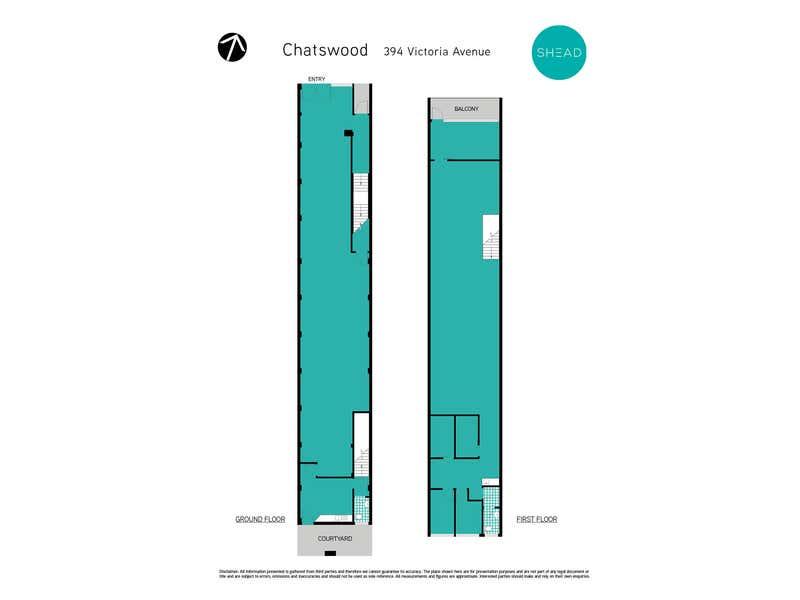 394 Victoria Avenue Chatswood NSW 2067 - Floor Plan 1