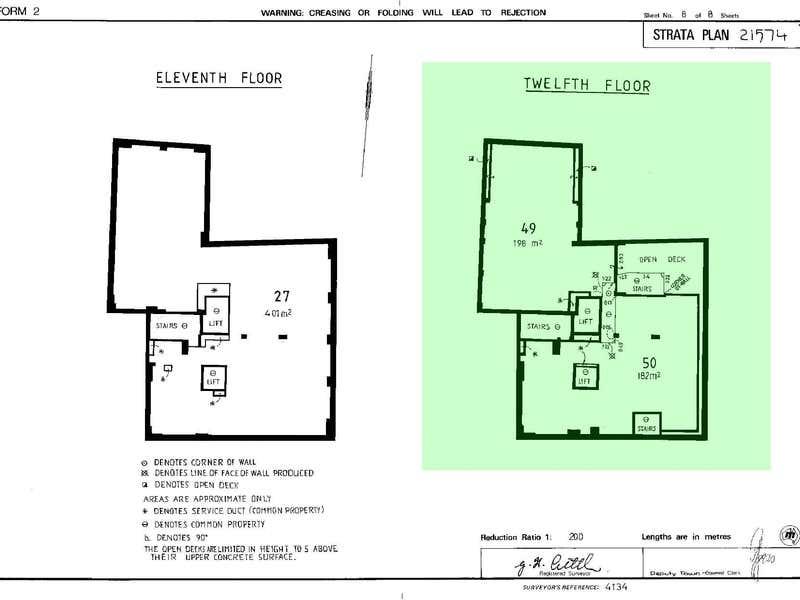 The Penthouse - Culwulla Chambers, 67 Castlereagh Street Sydney NSW 2000 - Floor Plan 2