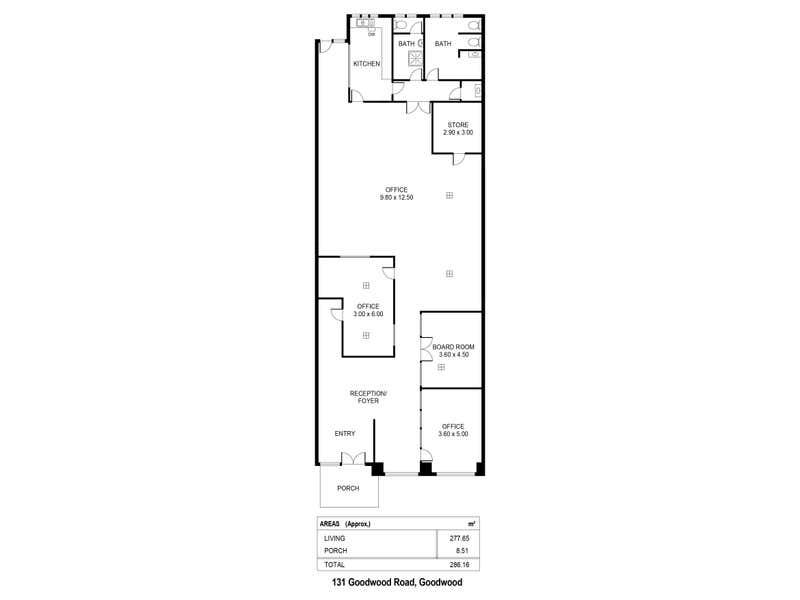 131 Goodwood Road Goodwood SA 5034 - Floor Plan 1