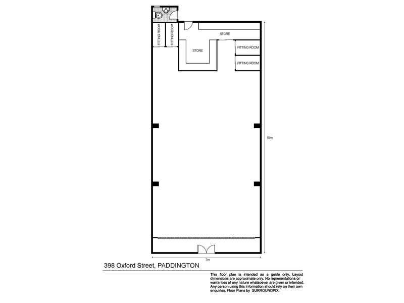 398 Oxford Street Paddington NSW 2021 - Floor Plan 1