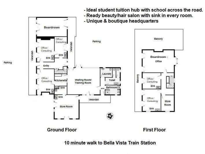 Bella Vista NSW 2153 - Floor Plan 1