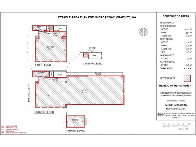 Broadway Commercial Centre, 80  Broadway Nedlands WA 6009 - Floor Plan 1