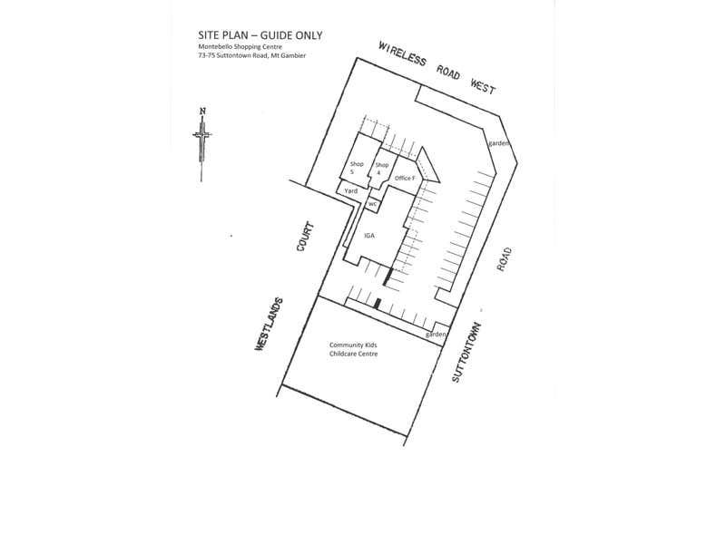 Shop 4, 73-75 Suttontown Road Mount Gambier SA 5290 - Floor Plan 2