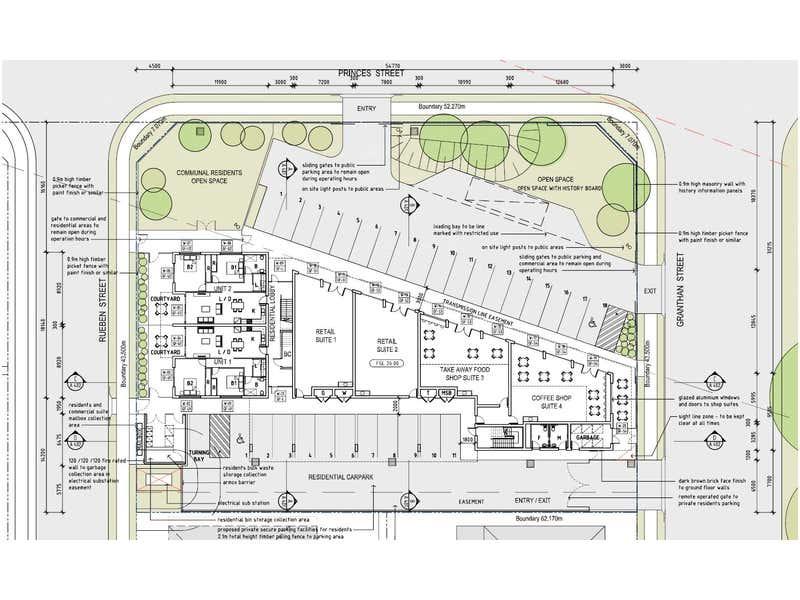 Shop 1-4/Lot 284 Grantham Street Riverstone NSW 2765 - Floor Plan 1