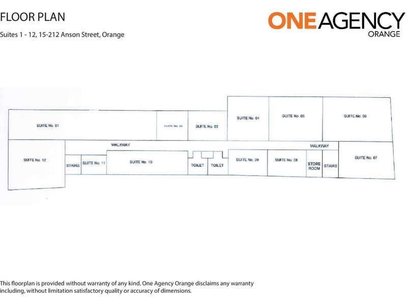 Anson Street Plaza, Suites 1-1 Anson Street Orange NSW 2800 - Floor Plan 1