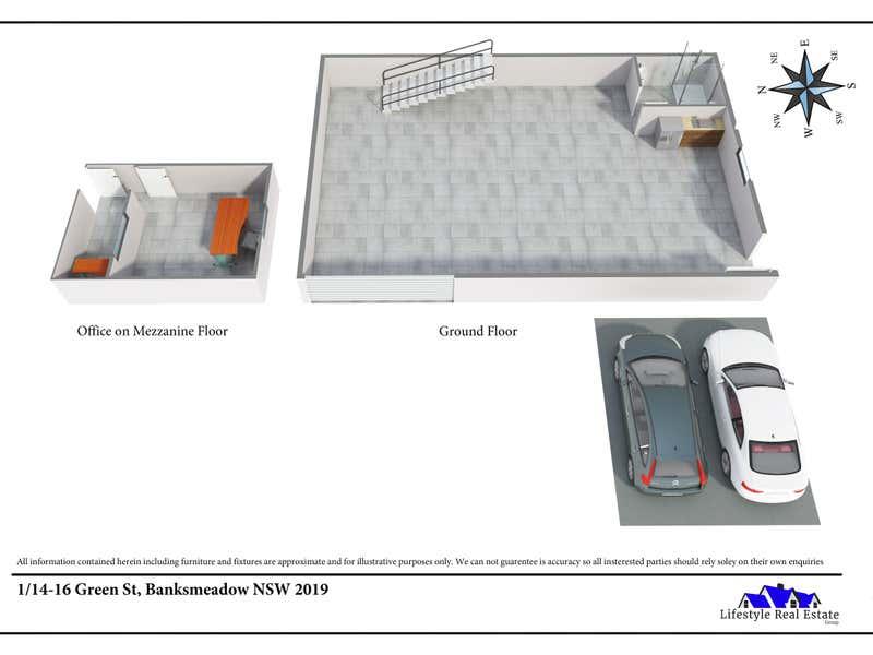 1/14-16 Green St Banksmeadow NSW 2019 - Floor Plan 1