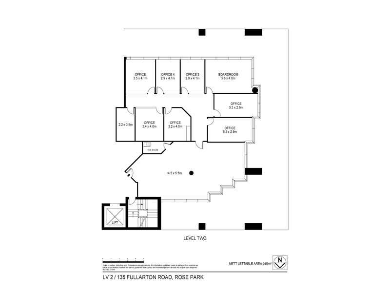 135 Fullarton Road Rose Park SA 5067 - Floor Plan 2