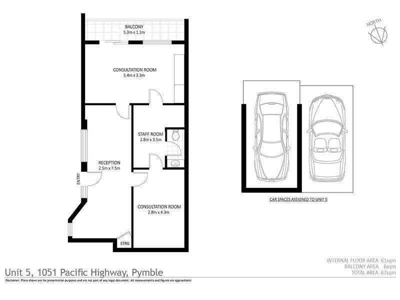 5/1051 Pacific Highway Pymble NSW 2073 - Floor Plan 1
