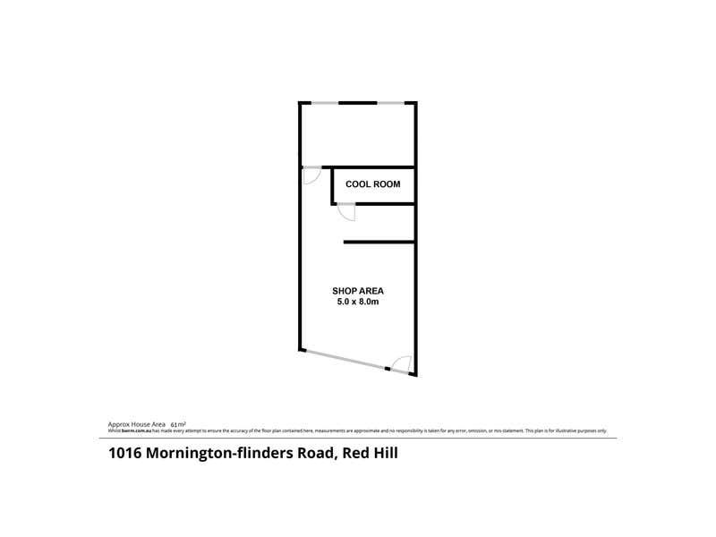 2/1016 Mornington-Flinders Road Red Hill VIC 3937 - Floor Plan 1
