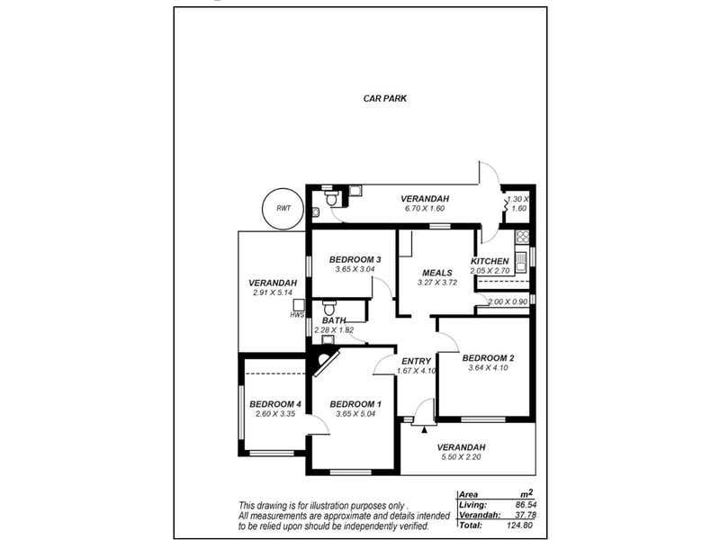 1 McHenry Street, 1 McHenry Street Murray Bridge SA 5253 - Floor Plan 1