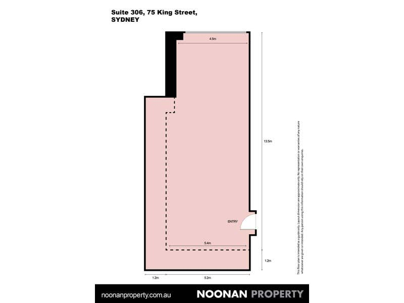 Reid House, 306/75 King Street Sydney NSW 2000 - Floor Plan 2