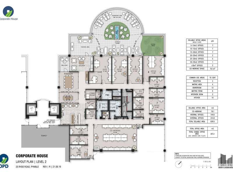Level 2, 25 Ryde Road, Pymble West Pymble NSW 2073 - Floor Plan 1