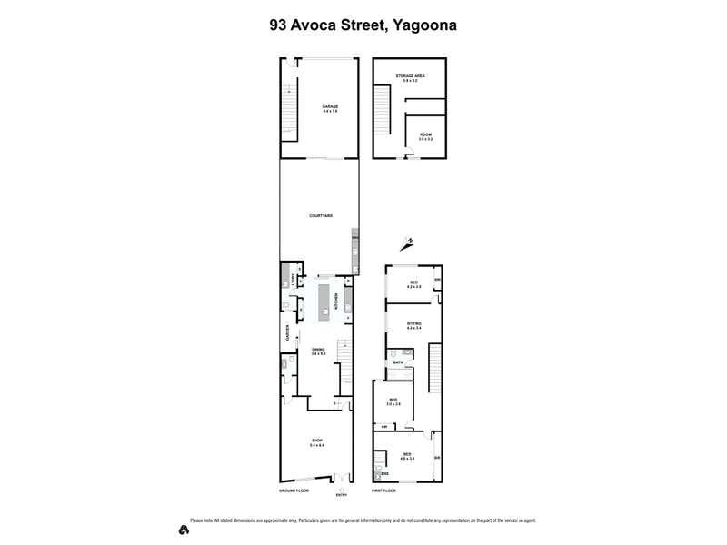 93 Avoca Street Yagoona NSW 2199 - Floor Plan 1
