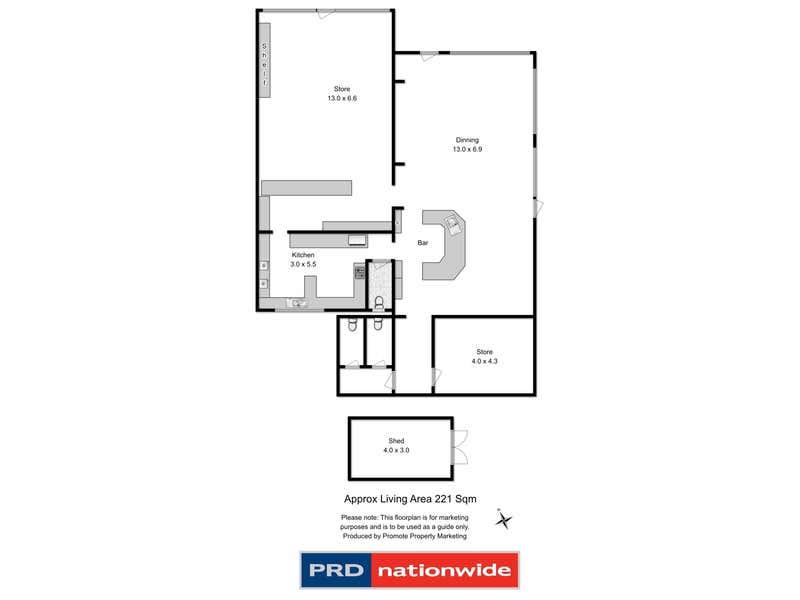518 Lachlan Road Lachlan TAS 7140 - Floor Plan 1