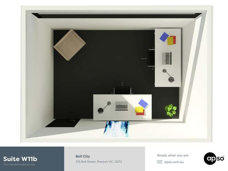 Bell City, Suite West 11b, 215 Bell Street Preston VIC 3072 - Floor Plan 1