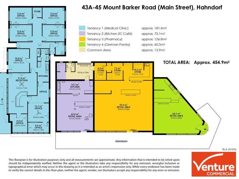 43A-45 Mount Barker Road Hahndorf SA 5245 - Floor Plan 1