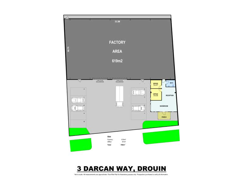 3 Darcan Way Drouin VIC 3818 - Floor Plan 1