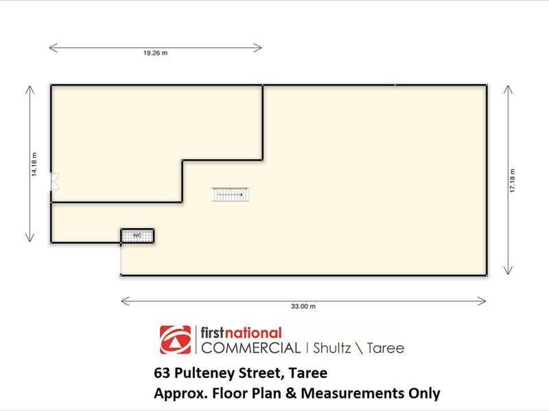 63 Pulteney Street Taree NSW 2430 - Floor Plan 1