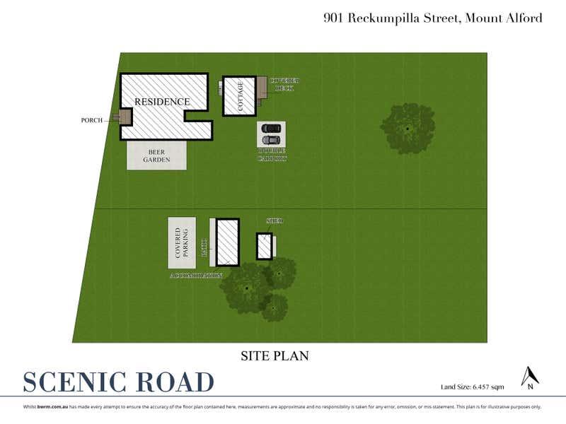 Mount Alford Hotel, 901 Reckumpilla Street Mount Alford QLD 4310 - Floor Plan 2