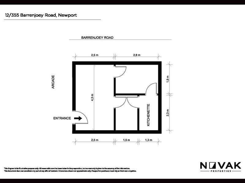 12/355 Barrenjoey Road Newport NSW 2106 - Floor Plan 1