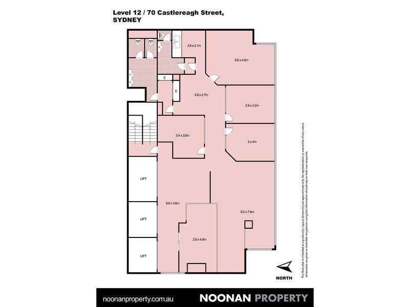 Chanel Building, 70 Castlereagh Street Sydney NSW 2000 - Floor Plan 2