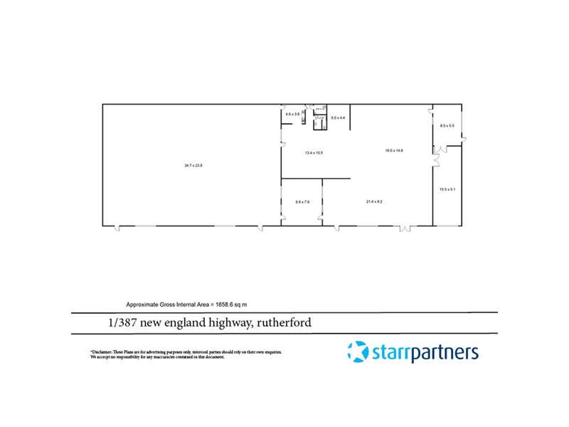 1/387 New England Highway Rutherford NSW 2320 - Floor Plan 1