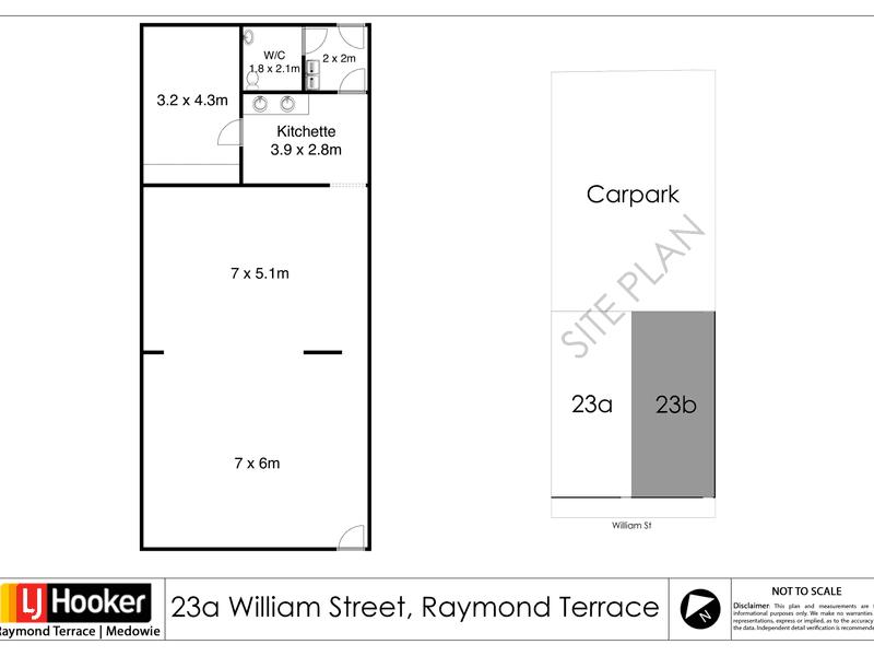 23 William Street, Raymond Terrace, 23 William Street Raymond Terrace NSW 2324 - Floor Plan 1