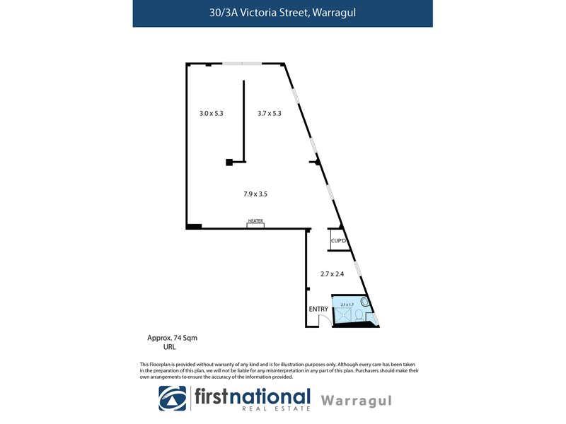 30/3A Victoria Street Warragul VIC 3820 - Floor Plan 1
