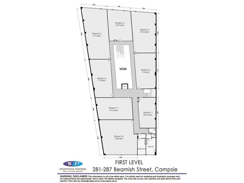 Office 3/281-287 Beamish Street Campsie NSW 2194 - Floor Plan 2