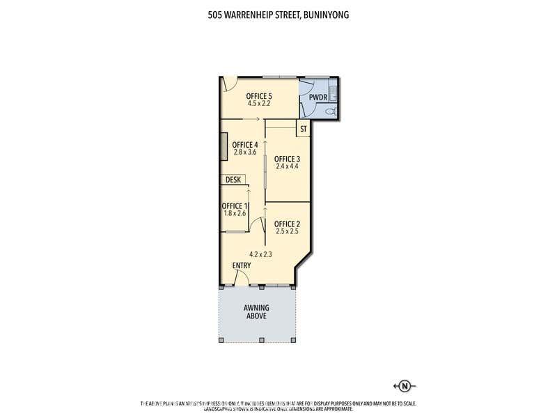 505 Warrenheip Street Buninyong VIC 3357 - Floor Plan 1