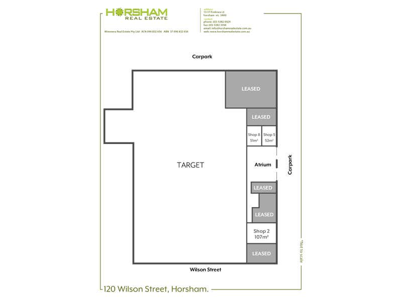 Horsham Gateway Centre, Shop 1, 120 Wilson Street Horsham Horsham VIC 3400 - Floor Plan 1