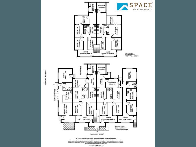 530 Brunswick Street Fortitude Valley QLD 4006 - Floor Plan 1