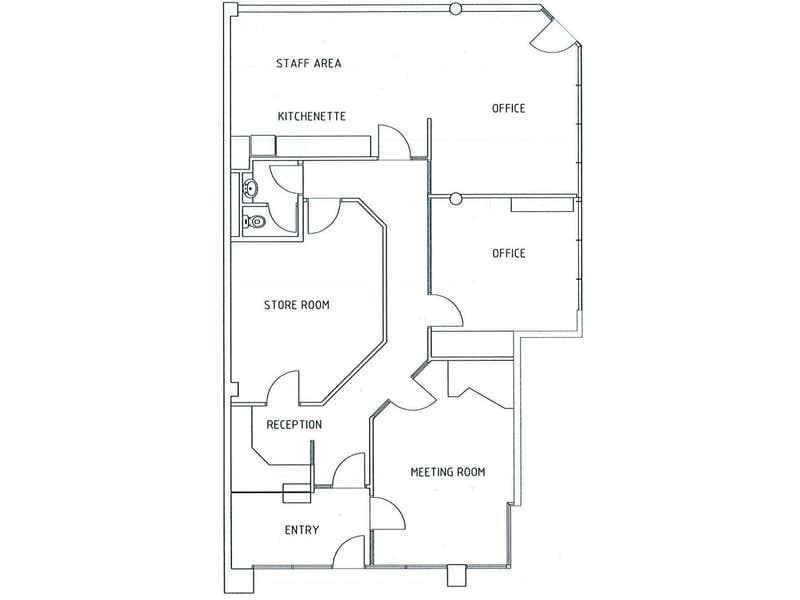 1/82 Todd Street Alice Springs NT 0870 - Floor Plan 1