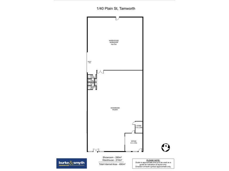 1/40 Plain Street Tamworth NSW 2340 - Floor Plan 1