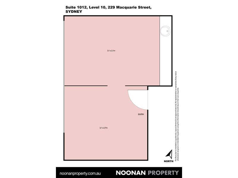 William Bland Centre, 1012/229 Macquarie Street Sydney NSW 2000 - Floor Plan 2