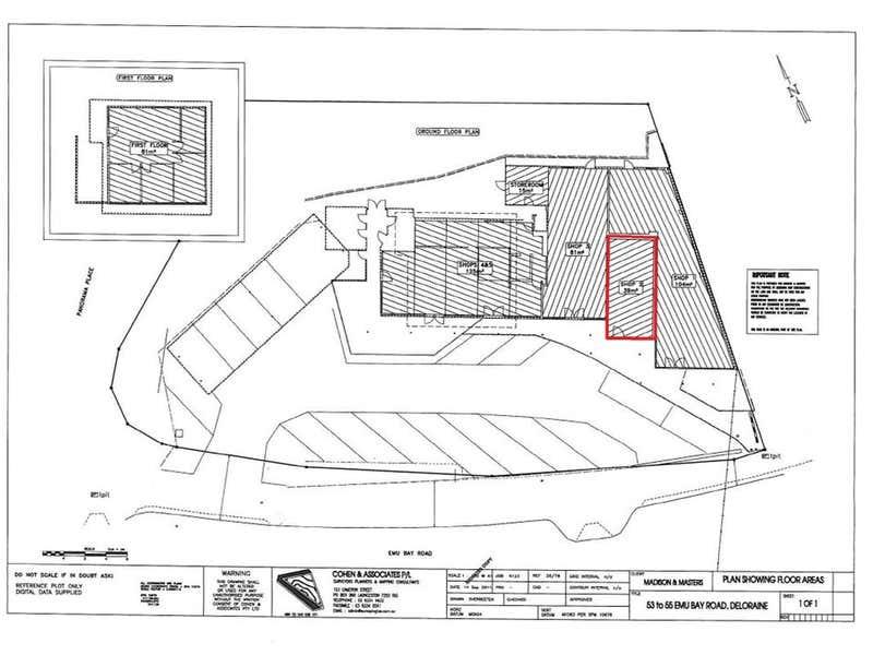 Shop 2 53-55 Emu Bay Road Deloraine TAS 7304 - Floor Plan 1