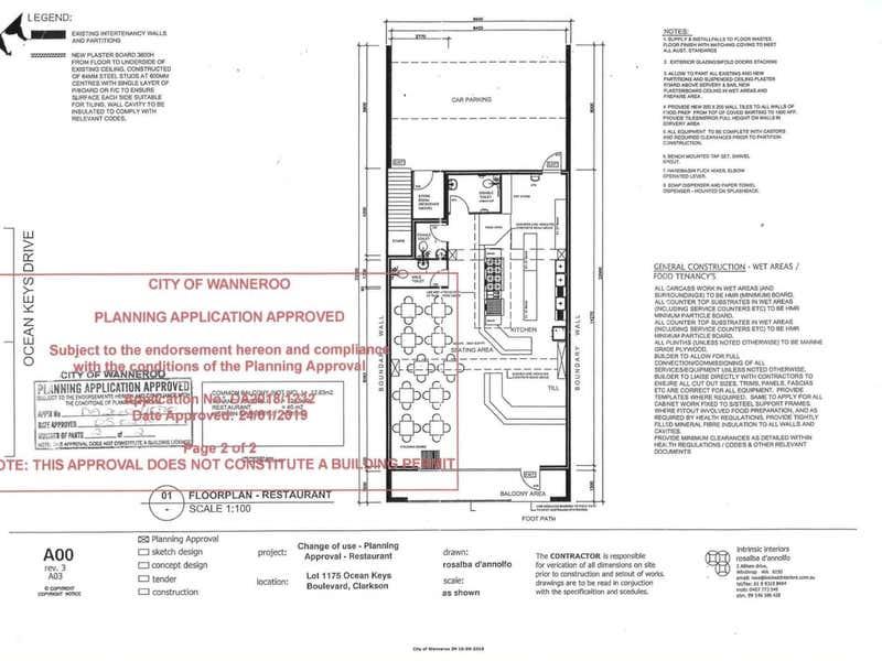 233 Ocean Keys Boulevard Clarkson WA 6030 - Floor Plan 2