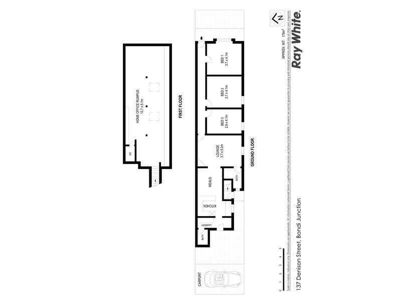 137 Denison Street Bondi Junction NSW 2022 - Floor Plan 1
