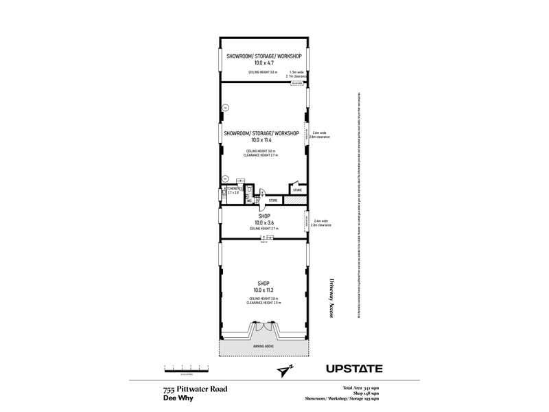 Shop 1/755 Pittwater Road Dee Why NSW 2099 - Floor Plan 1