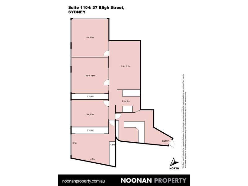 1104/37 Bligh Street Sydney NSW 2000 - Floor Plan 2