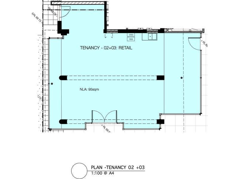 Cessnock Central - Tenancies 2&3 (combined), 2 North Avenue Cessnock NSW 2325 - Floor Plan 1