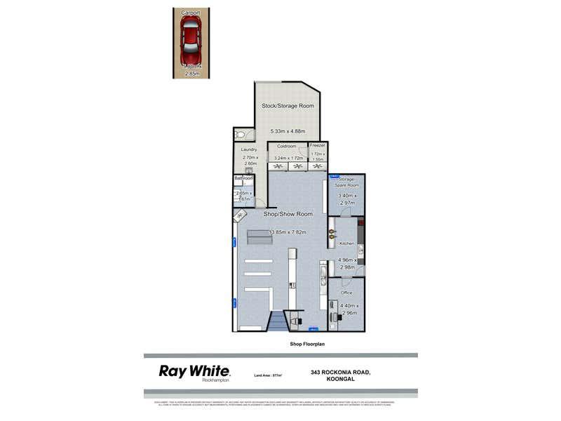 Rockonia Road Store, 343 Rockonia Road Koongal QLD 4701 - Floor Plan 1
