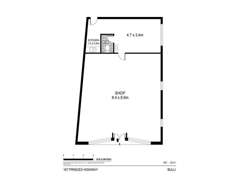 167 Princes Highway Bulli NSW 2516 - Floor Plan 1