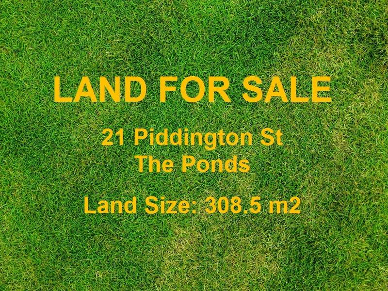21 Piddington Street, The Ponds