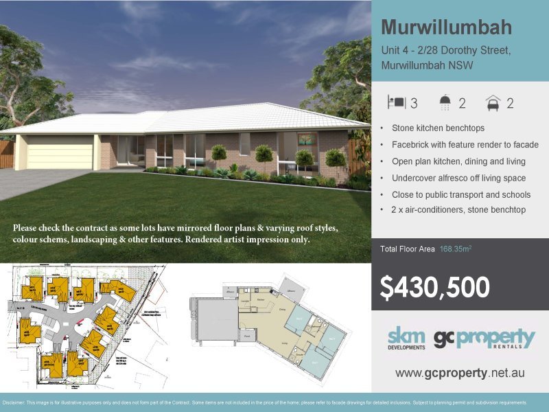 4 - 2/28  Dorothy Street, Murwillumbah, NSW 2484
