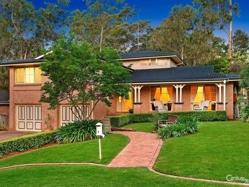 4 Dinmore Place Castle Hill Nsw 2154 Property Details