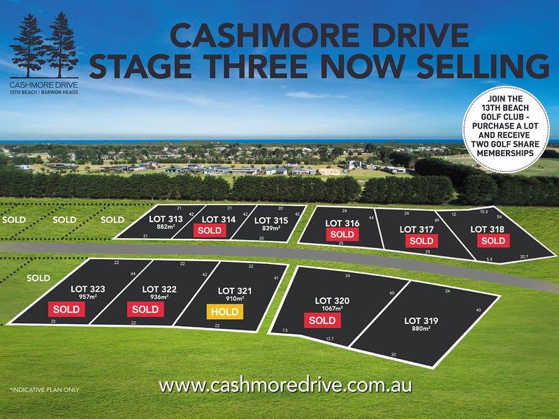LOTS 313-323 Cashmore Drive, Barwon Heads